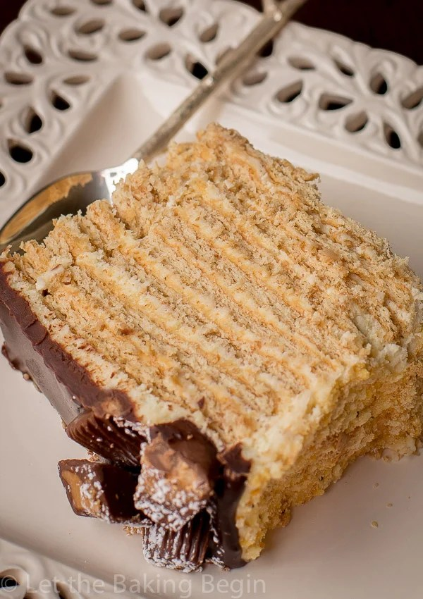 No-Bake Honey Cake is a simple no bake dessert with graham crackers.