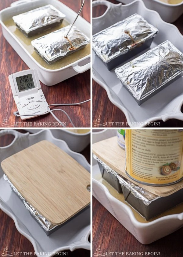 How to bake pate.