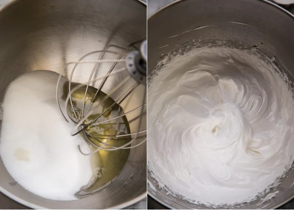How to make this easy meringue recipe in a mixer.
