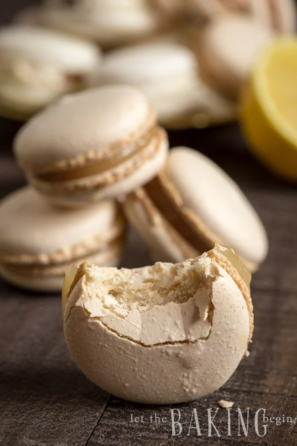 Basic Macarons - Italian Meringue Method - learn all the secrets to perfect macarons in step by step photo tutorial.