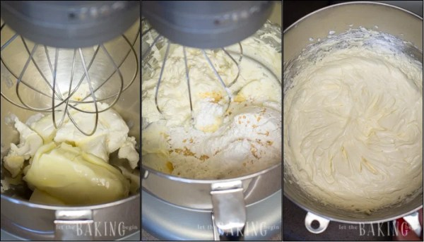 How to make creamy sour cream frosting with a mixer.