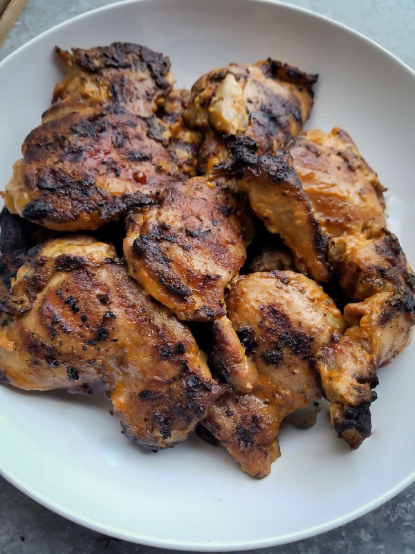 Grilled Chicken Thigh Recipe
