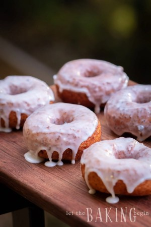 Easy Sugar Glazed Donuts