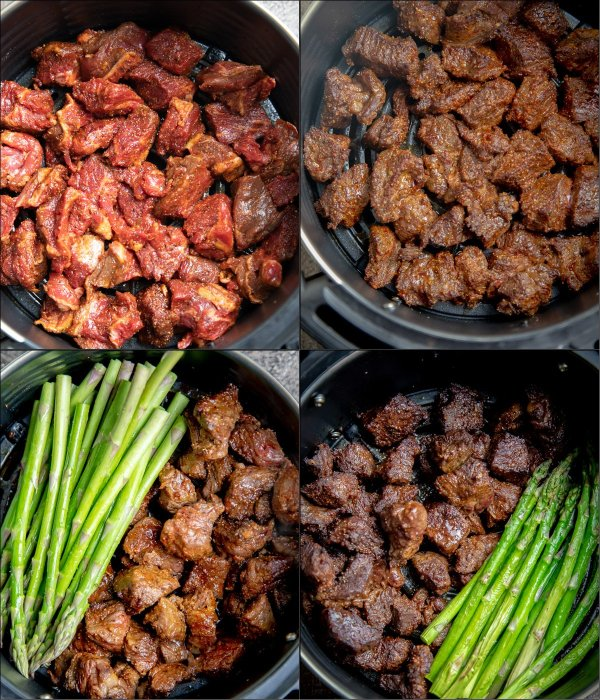 Learn how to cook steak tips with this simple photo tutorial.