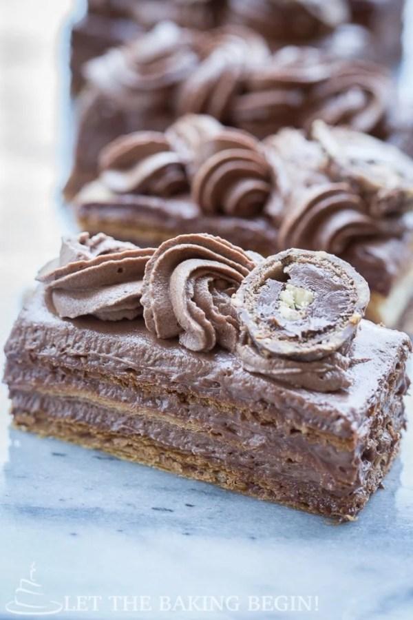 Ferrero Rocher Napoleon | Let the Baking Begin!