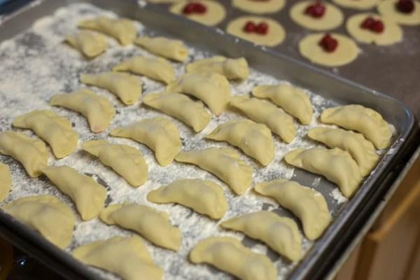 Cherry Varenuki - by Let the Baking Begin
