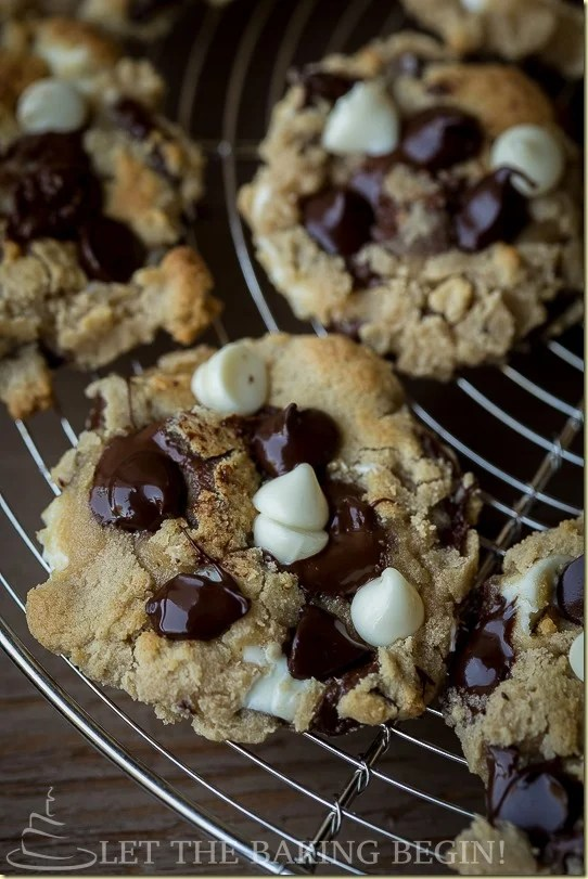 My kids love it when coming from school I treat them to freshly baked, still warm and chewy cookies with cold glass of milk. Make them for your family, I bet they'll eat more than one (or two) :)