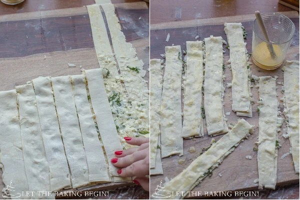 Cheese and Basil Puff Pastry Twists by LetTheBakingBeginBlog.com @Letthebakingbg-14