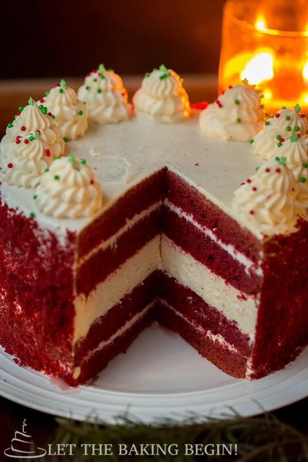 red velvet cheesecake cake let the baking begin. Black Bedroom Furniture Sets. Home Design Ideas