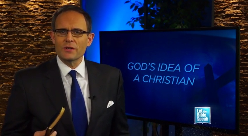 God's Idea Of A Christian - LET THE BIBLE SPEAK TV with Kevin Presley