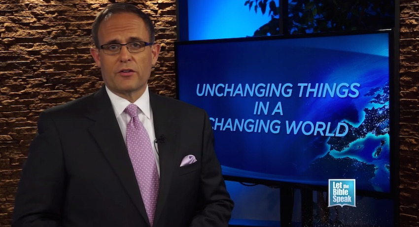 Unchanging Things In A Changing World (The Text) - LET THE BIBLE SPEAK TV with Kevin Presley