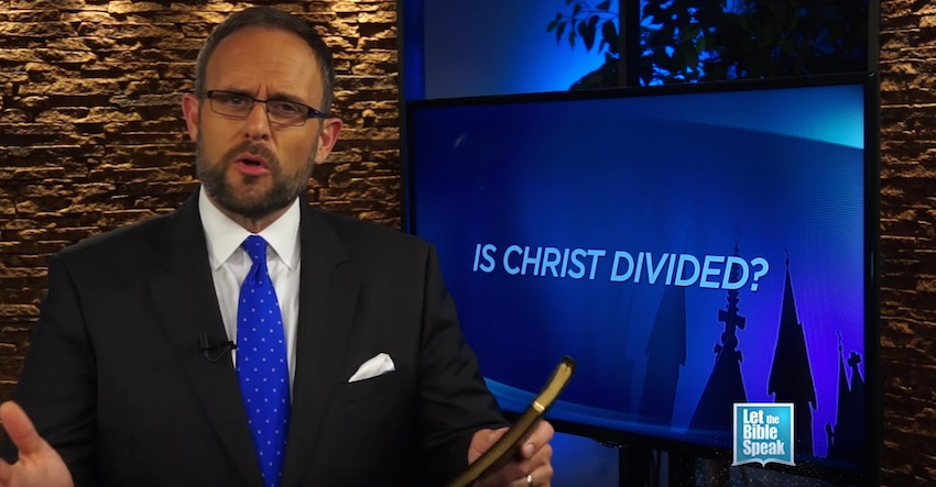 Is Christ Divided? (The Text) - LET THE BIBLE SPEAK TV with Kevin Presley