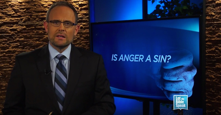 Is Anger A Sin? (The Text) - LET THE BIBLE SPEAK TV with Kevin Presley