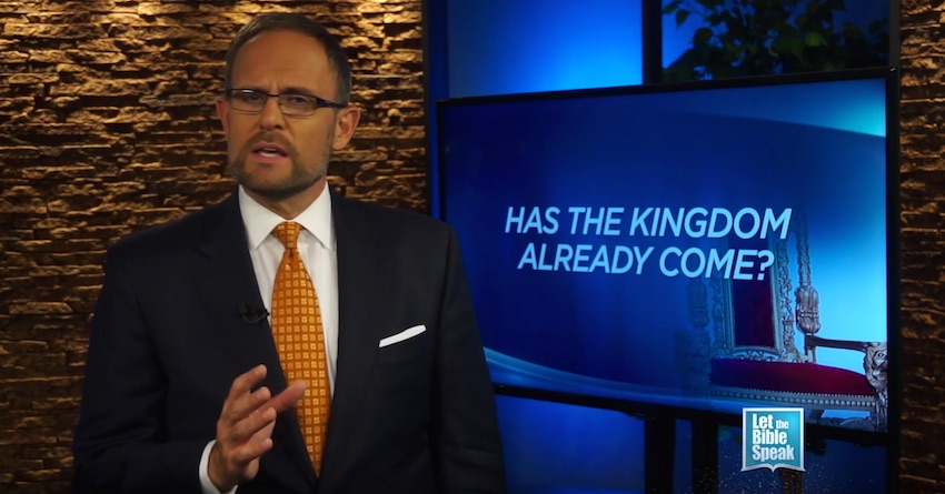 Has The Kingdom Already Come? (The Text) - LET THE BIBLE SPEAK TV with Kevin Presley