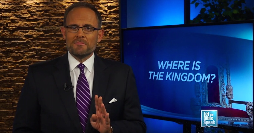 Where Is The Kingdom? (The Text) - LET THE BIBLE SPEAK TV with Kevin Presley
