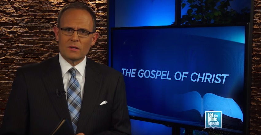 The Gospel Of Christ (The Text) - LET THE BIBLE SPEAK TV with Kevin Presley