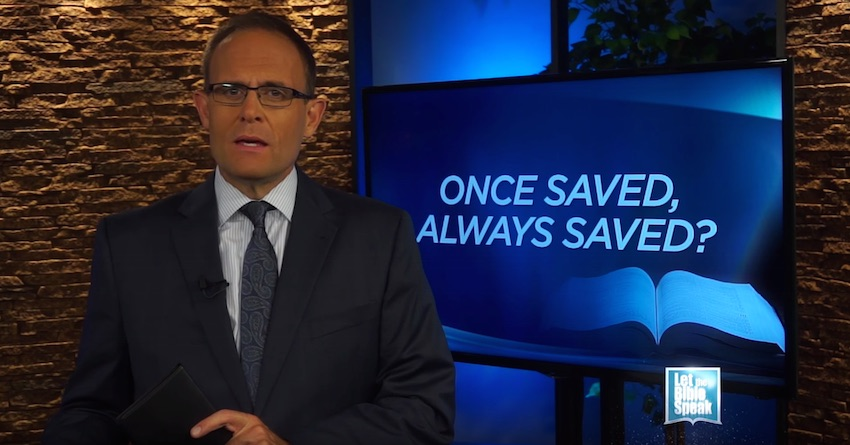 Once Saved, Always Saved? (The Text) - LET THE BIBLE SPEAK TV with Kevin Presley