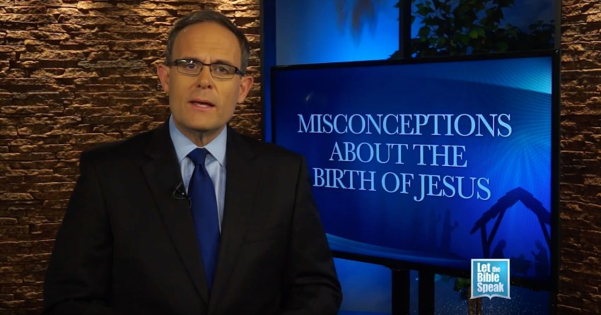 Misconceptions About The Birth Of Jesus (The Text) - LET THE BIBLE SPEAK TV with Kevin Presley