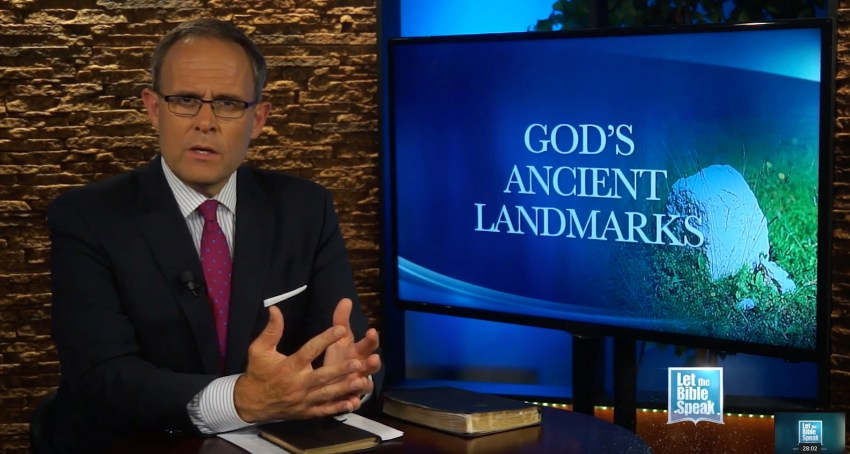 God's Ancient Landmarks Part 2 - LET THE BIBLE SPEAK TV with Kevin Presley