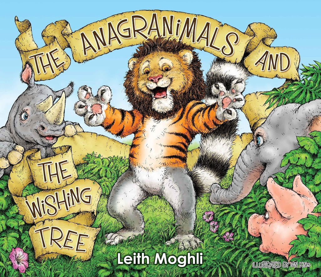 Book Review & Giveaway : The Anagranimals and the Wishing Tree