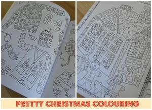 Pretty Christmas Colouring Book