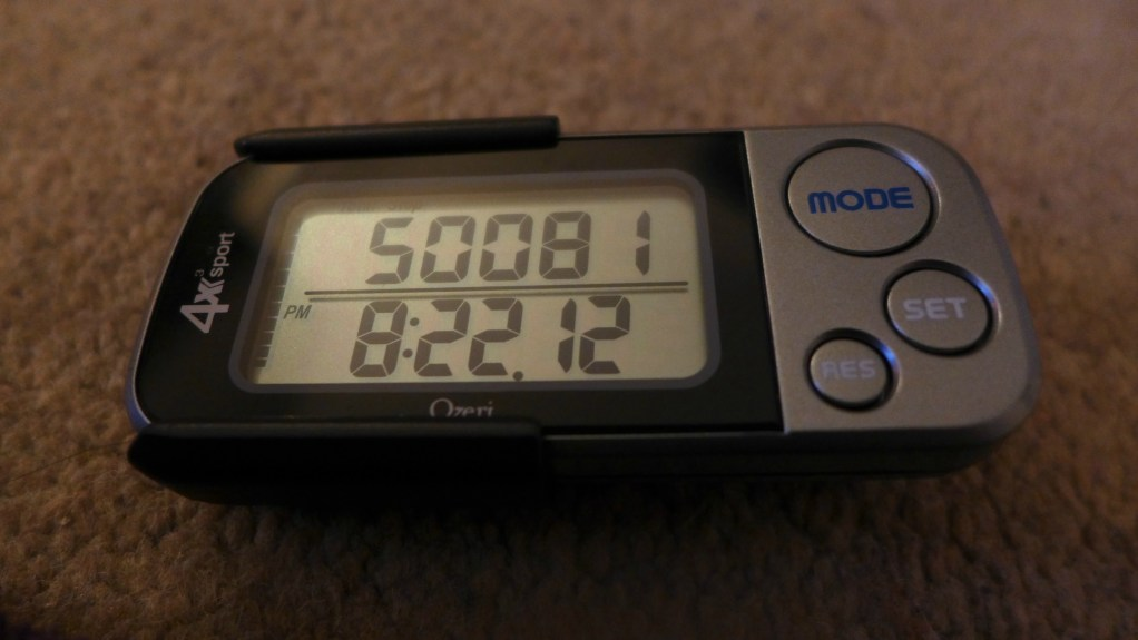 Step to it with A Digital Pedometer