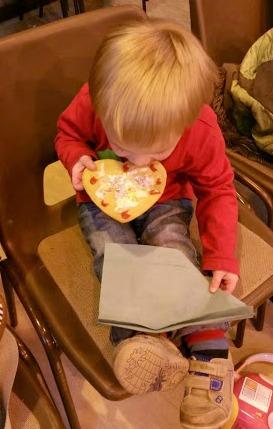 toddler valentine biscuit