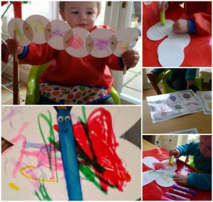 very hungry caterpillar toddler activity