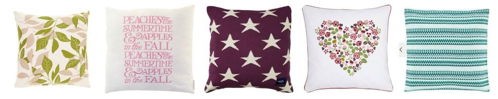 Cushions, Cushions, Cushions