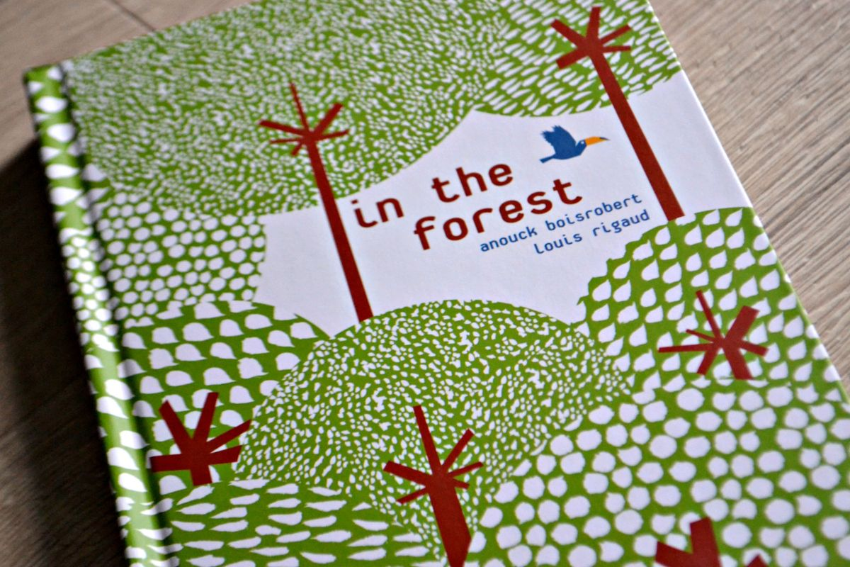 in the forest pop up book review