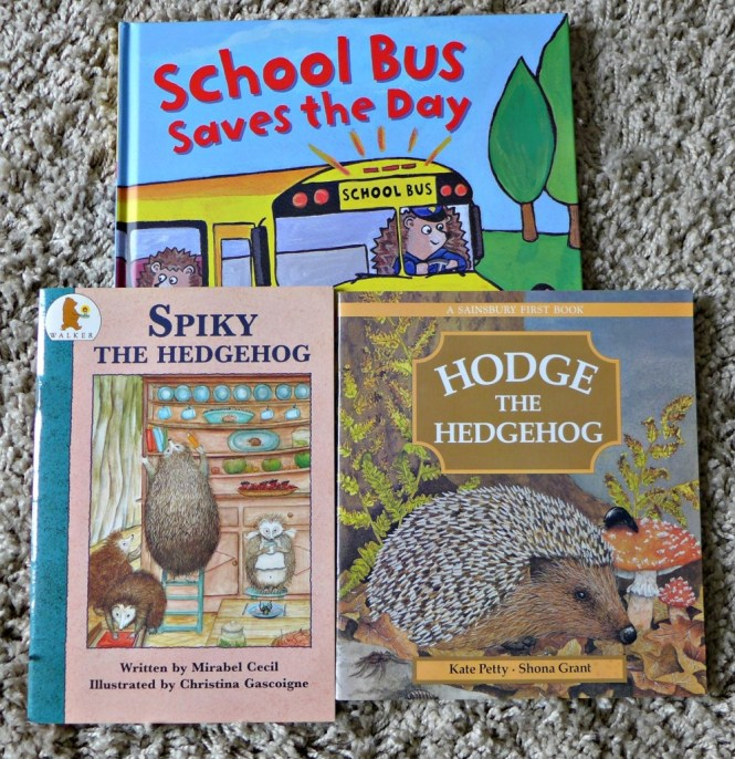 hedgehog books for toddlers