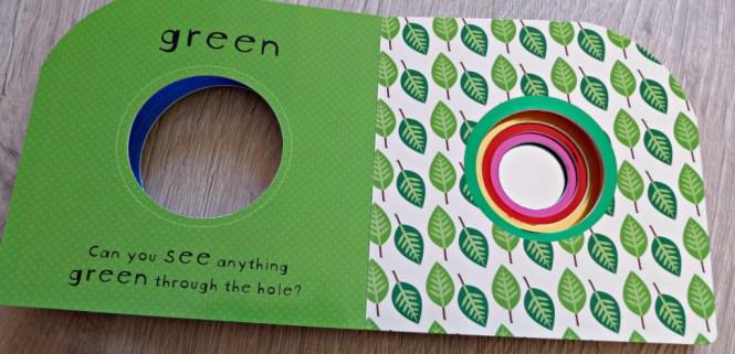 Sneak a peek colours book review