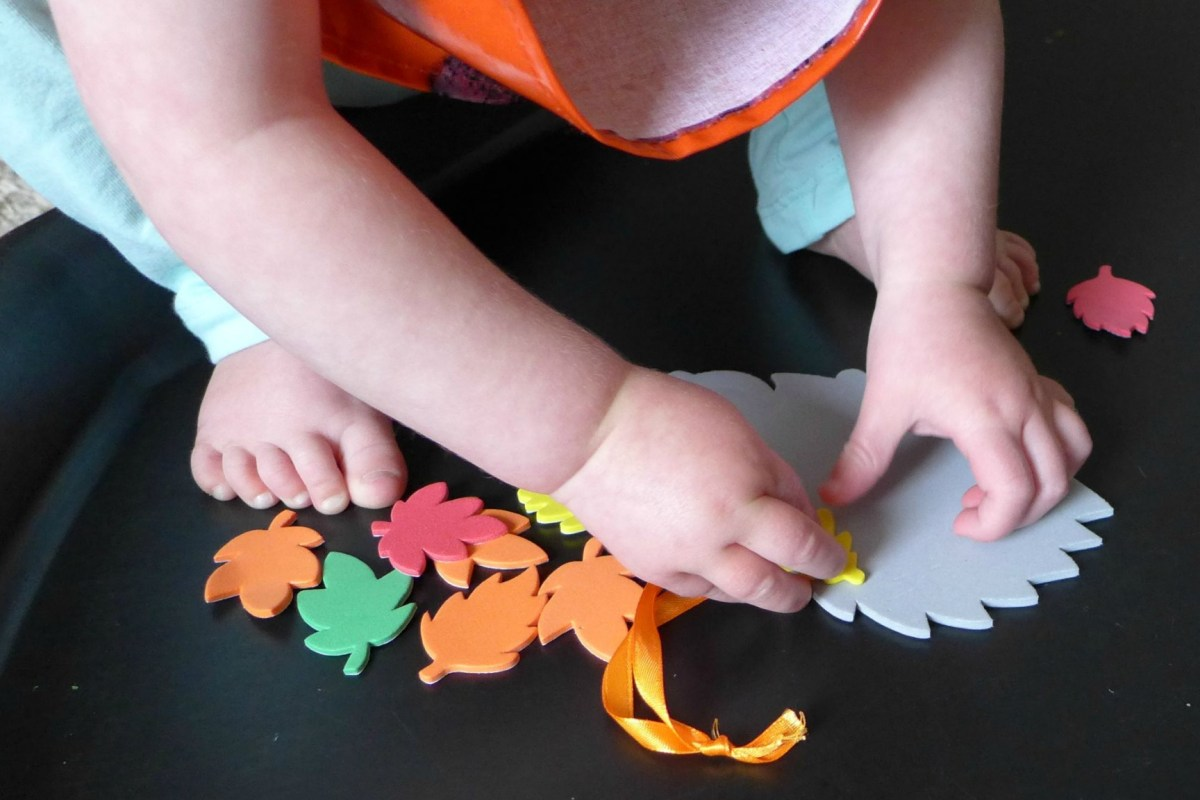 toddler hedgehog craft