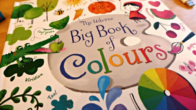 usborne big book of colours