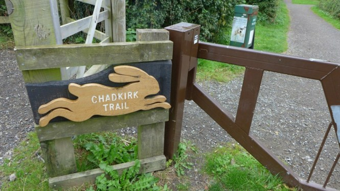 Chadkirk country park trail
