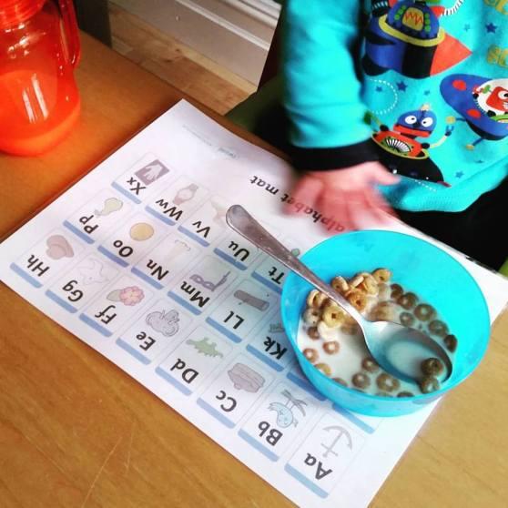 twinkl alphabet mat