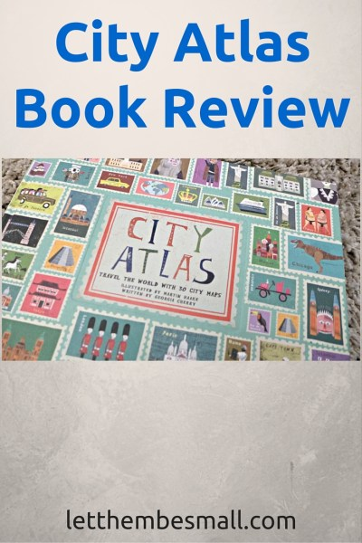 City Atlas is a delight to excite the young mind and let them explore the world through 30 cities