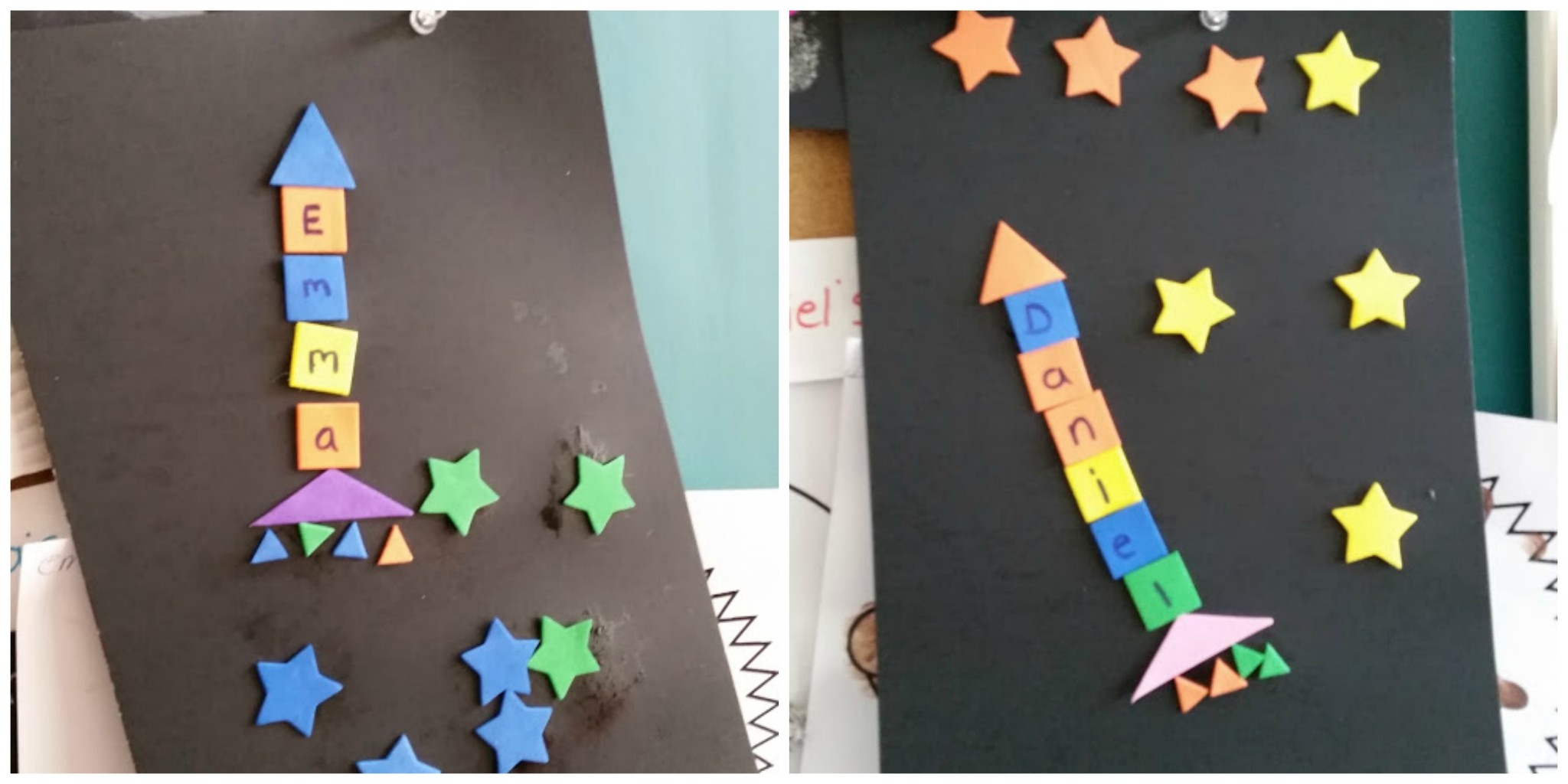 space activities for toddlers week 2