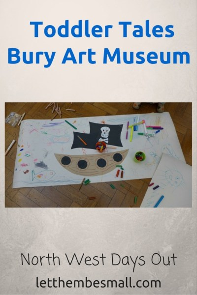 toddler tales at Bury art Museum is a great way to introduce young children to works of art