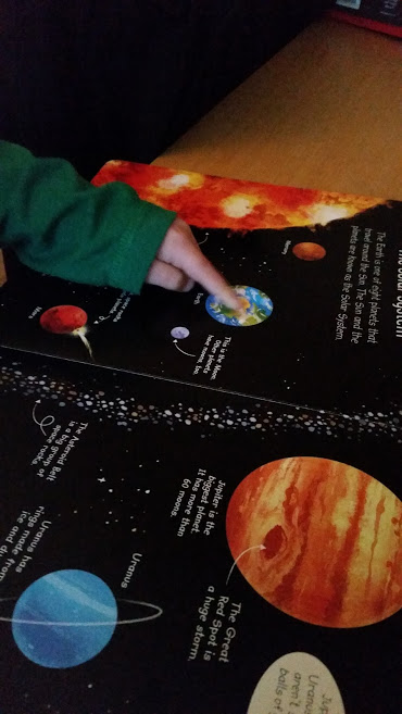 Space Usborne book