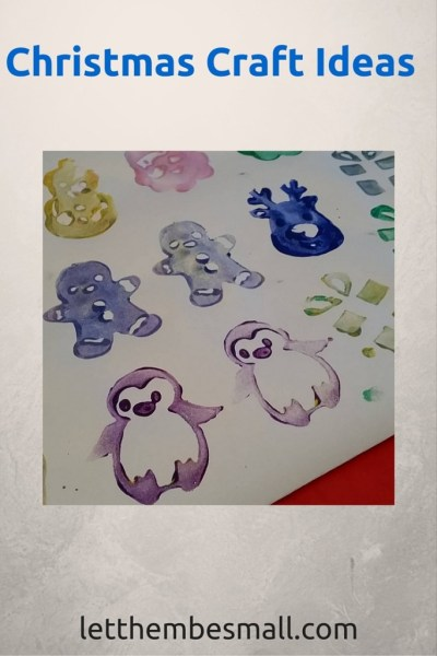Christms Crafting ideas for toddlers and pre schoolers - make own wrapping paper