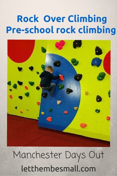 Rock Over Climbing Pre School Session Manchester