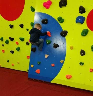 Rock over climbing
