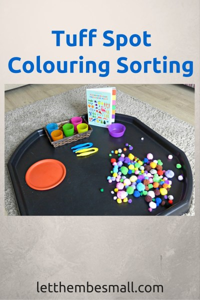 Colour Sorting Tuff Spot