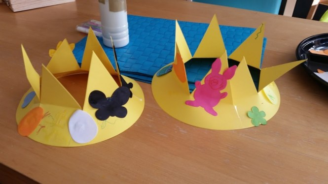 easter crowns