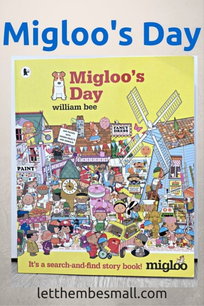 Migloo's Day is a wonderful search and find book