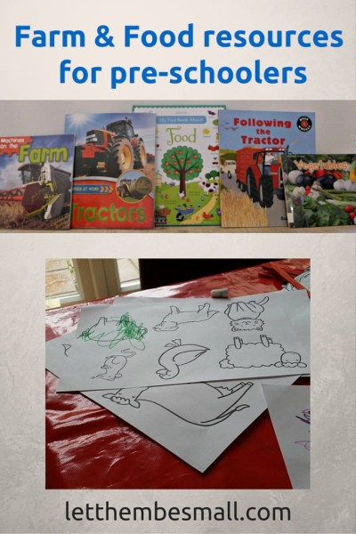 printable resources and activity ideas for teaching pre school children about food origins and farms