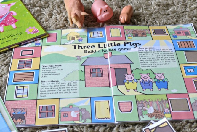 three little pigs games for pre schoolers