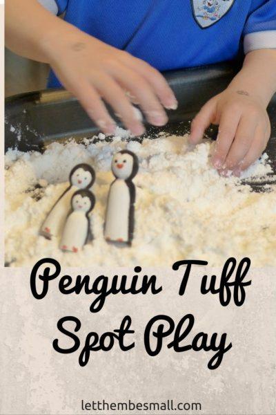 penguin tuff spot play
