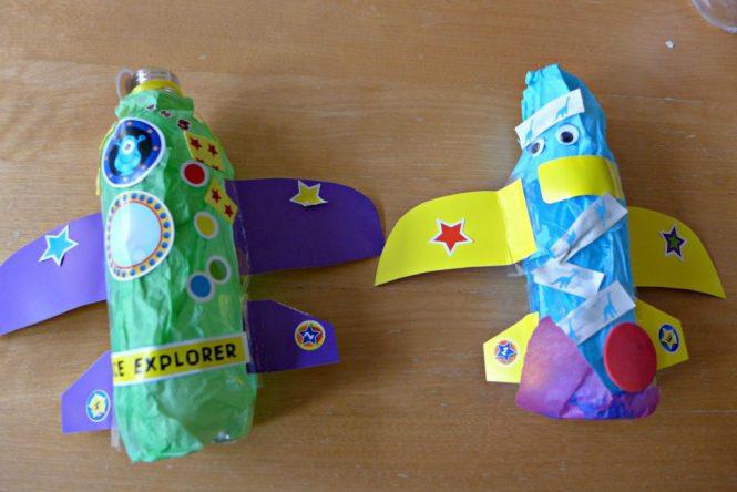 bottle rocket craft